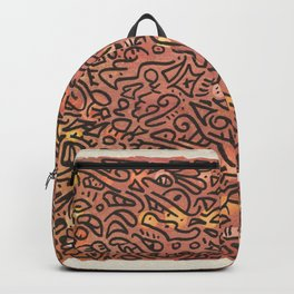 autumn vibes - water color doodle Backpack