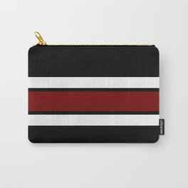 Team Colors 2...Maroon/white Carry-All Pouch