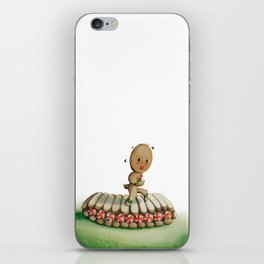 Running Biscuit iPhone Skin