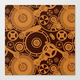Clockwork 1 Canvas Print