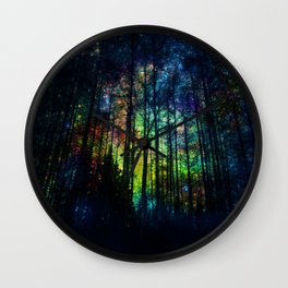 Magical Forest II Wall Clock