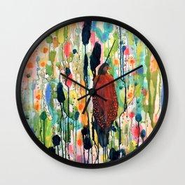 le coeur boheme Wall Clock