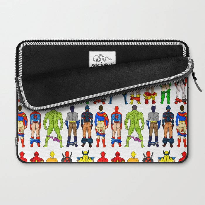 Superhero Butts Laptop Sleeve