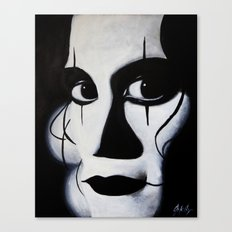 THE CROW CLOSE-UP Canvas Print