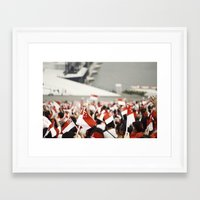patriotic Framed Art Prints featuring Patriotic by Seng Jueh