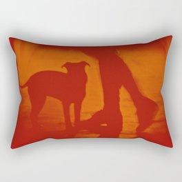 St: Simeon 47 Griffon Bruxellois Rectangular Pillow