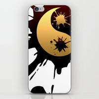 ying yang iPhone & iPod Skins featuring Ying-Yang by Jessica Jimerson