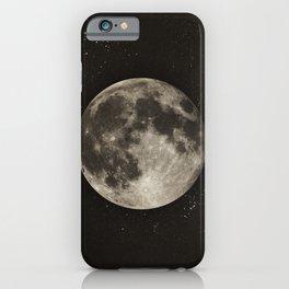 The Moon  [Sans Type] iPhone Case