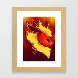 FLAREON Framed Art Print