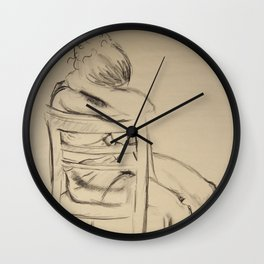 In Silent Beauty Wall Clock