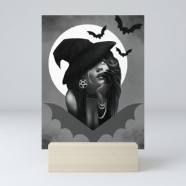 Sexy Witch Mini Art Print