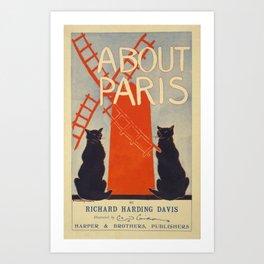 Reproduction Paris Vintage Poster Art Print
