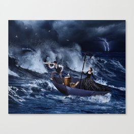 Gone With The Storm Canvas Print