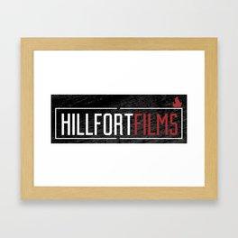 Hillfort Films Black Framed Art Print