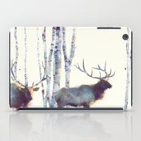 elk iPad Cases featuring Elk // Follow by Amy Hamilton