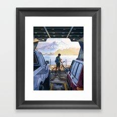 Puget Sound Framed Art Print
