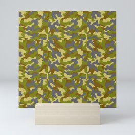 Camouflage Pattern | Camo Stealth Hide Military Mini Art Print