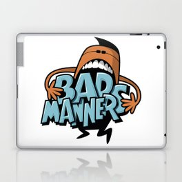 Bad Manners Laptop & iPad Skin