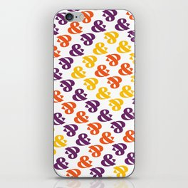 Ampersand Pattern 01: Fresh Color iPhone Skin