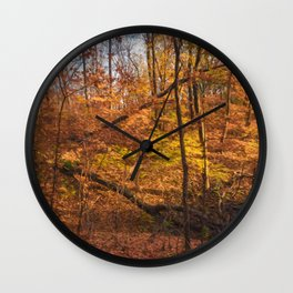 Fallen Trees Wall Clock