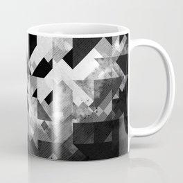 Abstract Black Geometric Coffee Mug