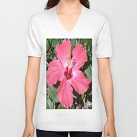 florida V-neck T-shirts featuring FLORIDA by Manuel Estrela 113 Art Miami