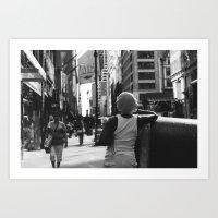 Madison Avenue, New York City Art Print