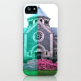 Cracked church... iPhone Case