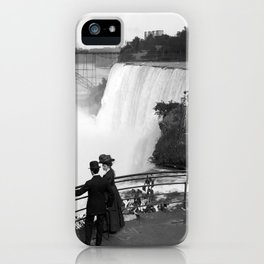 Vintage Niagara Falls - View From Goat Island - 1908 iPhone Case