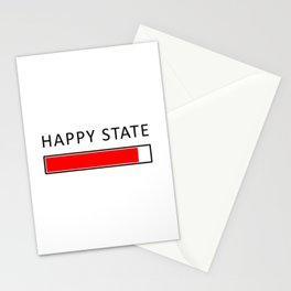 Happiness Concept Illustration Stationery Cards