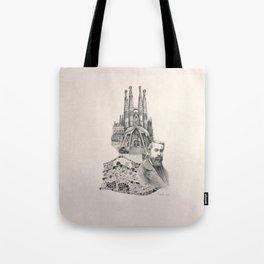 Tribute to Gaudi Tote Bag
