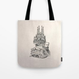 Tribute to Gaudi Tote Bag