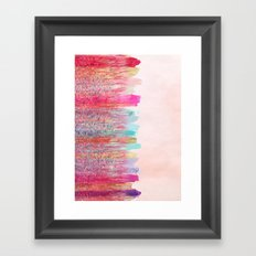 Chaos Over Simplicity Framed Art Print