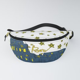 Rome Italy Colosseum Starry night Fanny Pack
