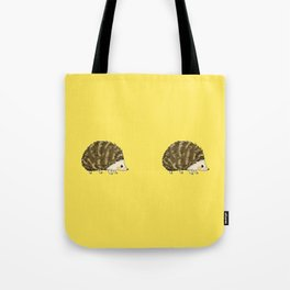Adorable wild animal hedgehog Tote Bag