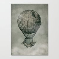 voyage Canvas Prints featuring Dark Voyage by Eric Fan