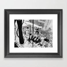Zombie Gig Framed Art Print