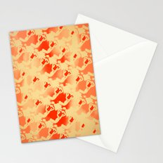 Woman Emerging Pattern B Stationery Cards