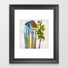 Brushtopia Framed Art Print
