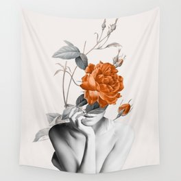 Rose 3 Wall Tapestry