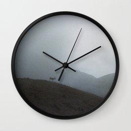 Ridge Reindeer Wall Clock