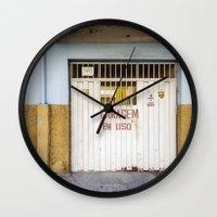 brazil Wall Clocks featuring Brazil by Sara_photographer