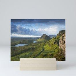 The Trotternish Ridge Mini Art Print