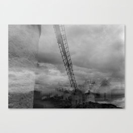 Windmills of Don Quijote  Canvas Print