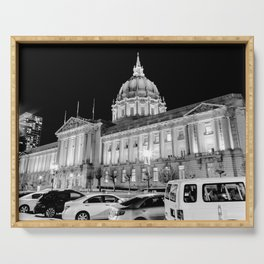 SF City Hall Serving Tray