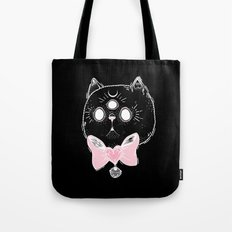 Witchy Kitten Tote Bag