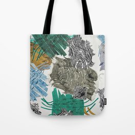 Carbonation Collection: beach Tote Bag