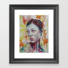 Liu's Sunrise Framed Art Print