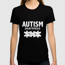 Autism Awareness Support Jigsaw Puzzle Women_s Autism T-shirt