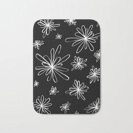 Energy Flowers Reverse Bath Mat